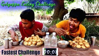 Fastest Golgappa/Fuchka Eating Competition | Pani Puri Challenge | Food Challenge