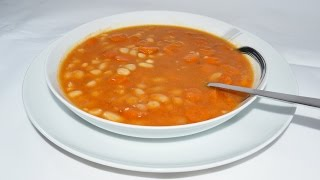 Stewed White Beans With Carrots - Easy White Bean Stew Recipe