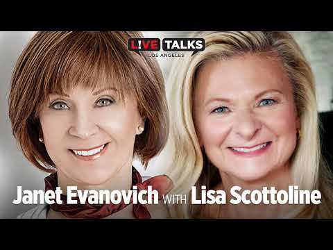 Janet Evanovich in conversation with Lisa Scottoline at Live Talks Los Angeles