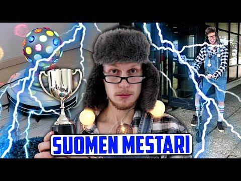 Tämä mies on sähkönkulutuksen Suomen mestari!