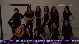 Zivanna Letisha Jalani Pemotretan Bersama Alumni Putri Indonesia