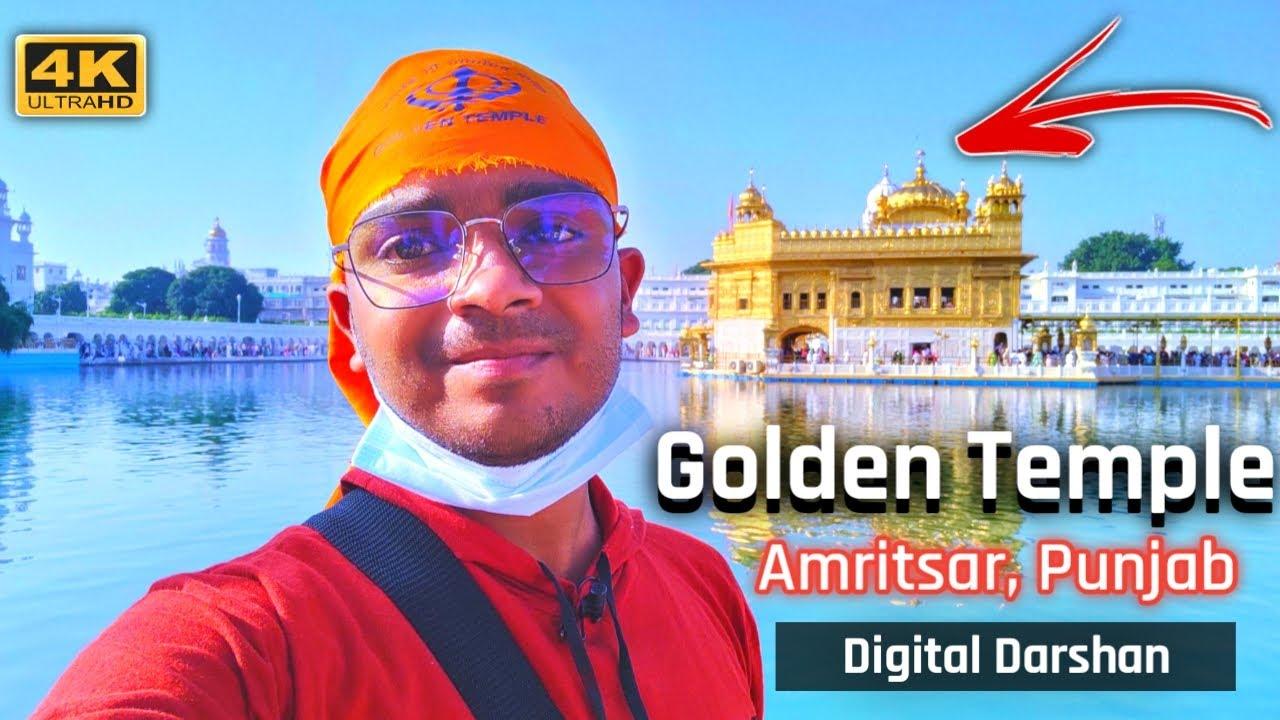 Golden Temple, Amritsar, India in 4K Ultra HD    Digital Darshan    Temple Point    Oct 2021
