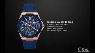 RELÓGIO GUESS ICONIC W1049G2 - 92676GPGSRU1