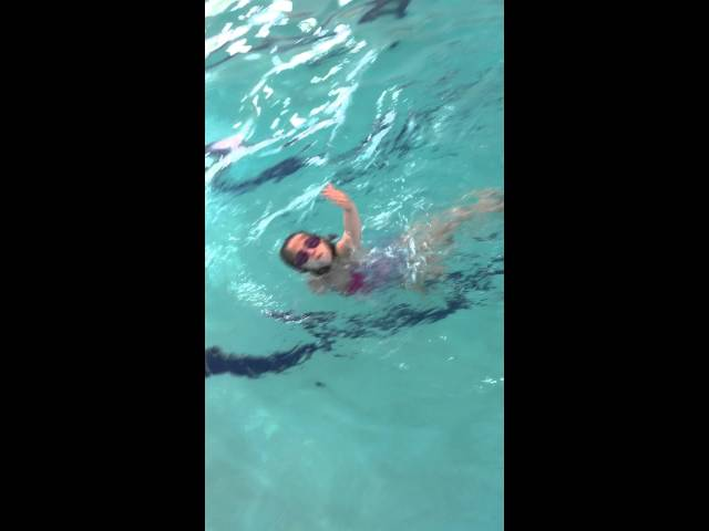 5 yr old Diving & Side Breath