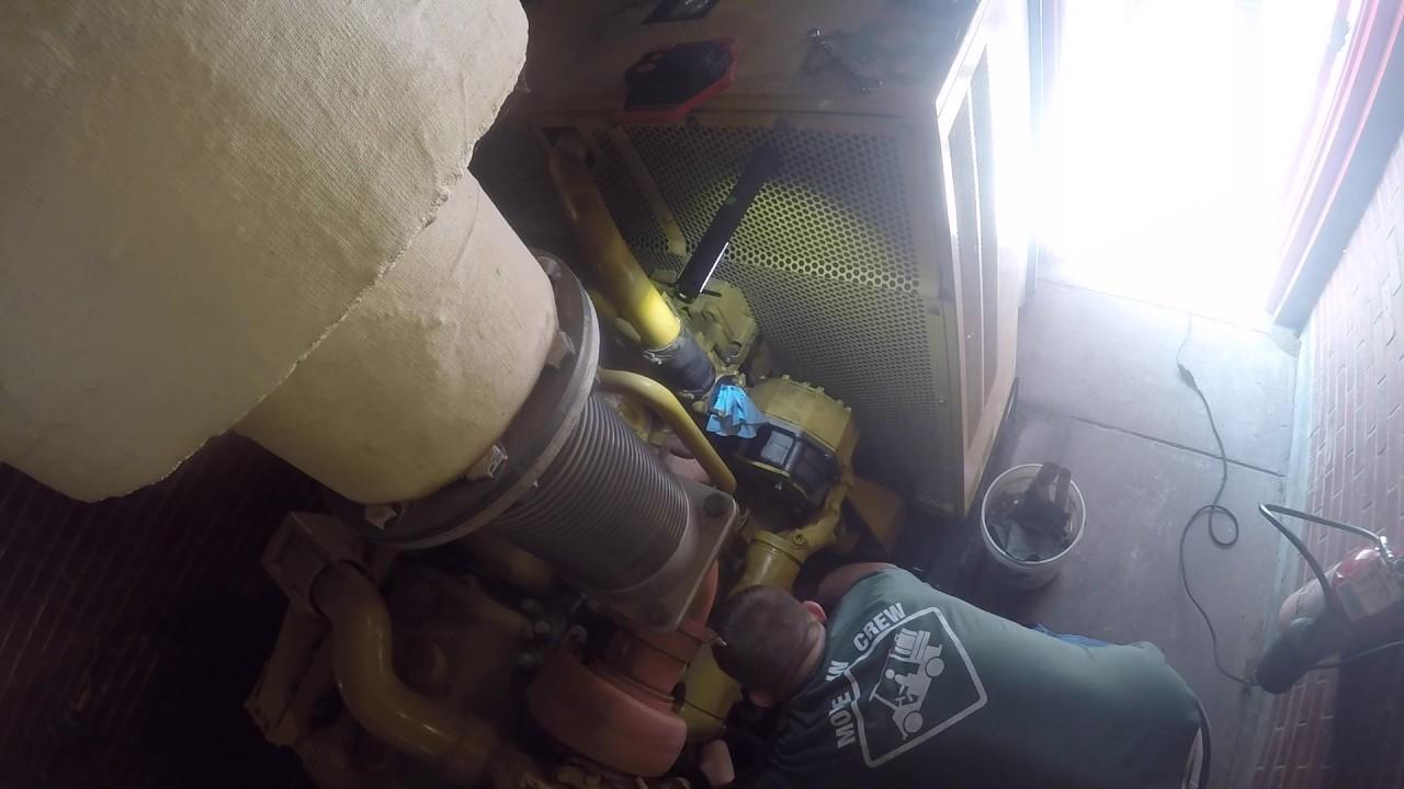 Cat B Water Pump Replacement