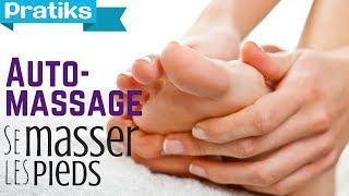 Auto massage - Comment se masser les pieds ?