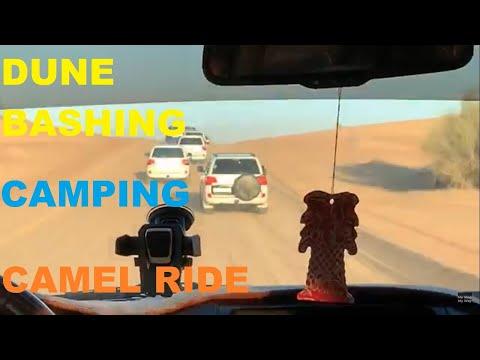 Dubai Desert Safari | Sand Dune Bashing | Camping | Camel Ride | 4×4 Land Cruiser | Best Experience
