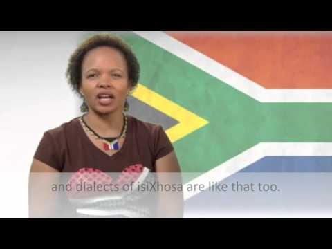 Languages of Africa: isiXhosa