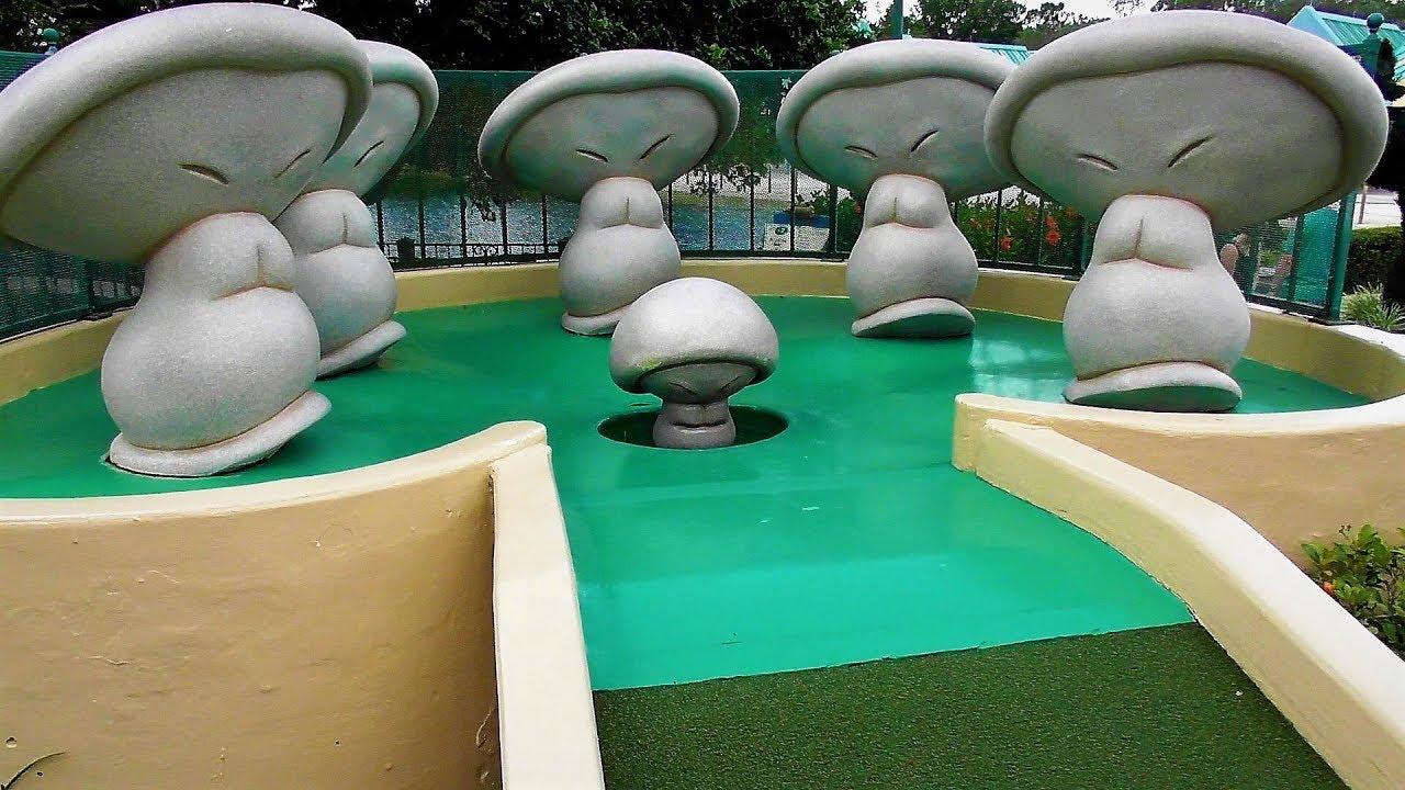 Worst Golfers Ever Fun At Disney S Fantasia Gardens Mini Golf Walt Disney World Youtube