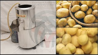 EASY POTATO PEELER MACHINE OR CHIPS POTATO PEELER MACHINE (PPM010) (+91-97245 55800)