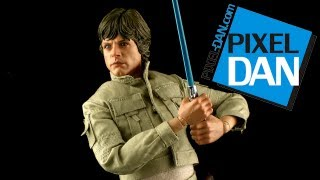 Hot Toys Star Wars DX-07 Luke Skywalker Bespin Outfit 1/6 Scale Collectible Figure Video Review