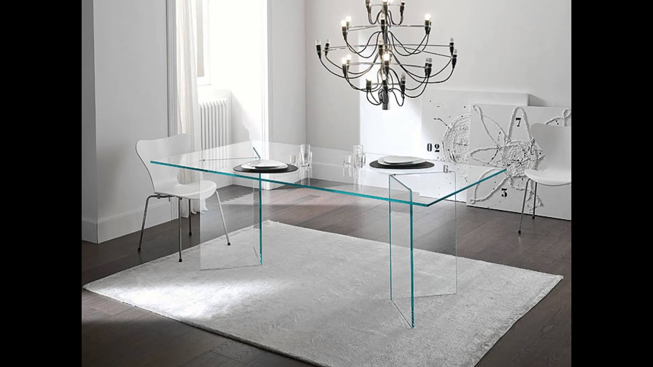 Muebles De Cristal Decora Con Muebles De Cristal Transparente Youtube