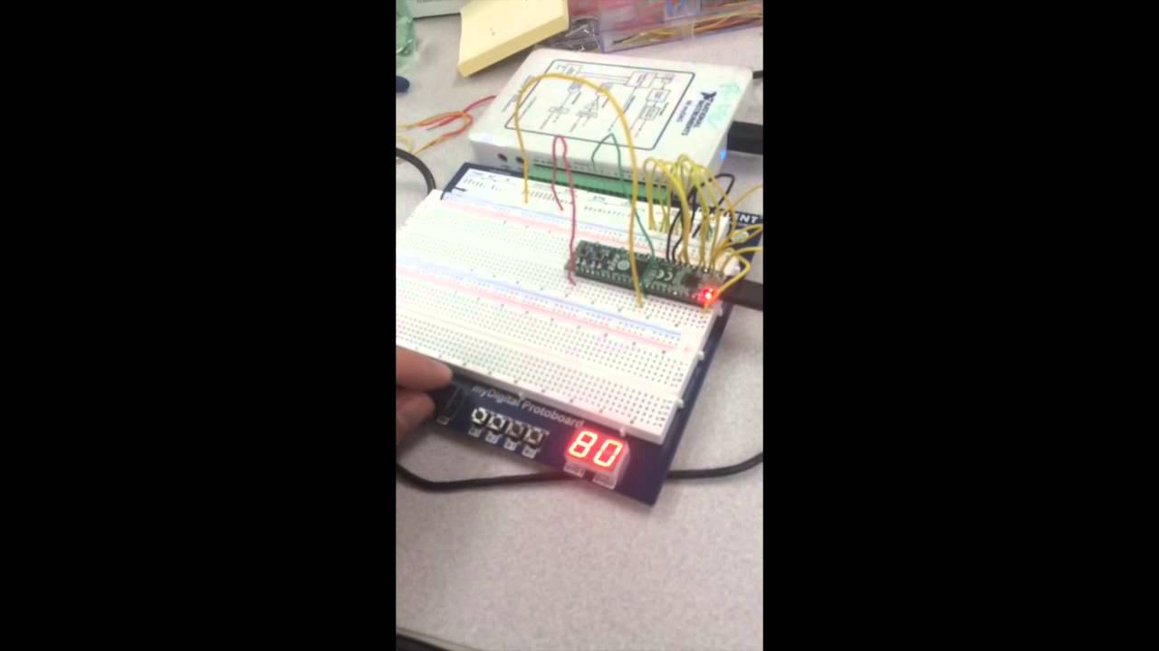 Digital Electronics PLTW Projects - YouTube