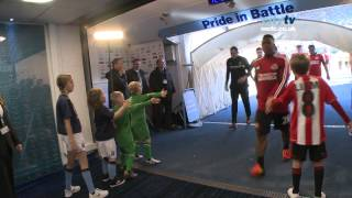 TUNNEL CAM: City 3-0 Sunderland - EPL 12-13