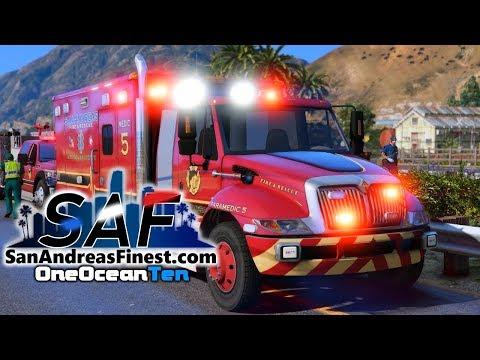 SA'F #122 - Call The MEDIVAC! | GTA V RP