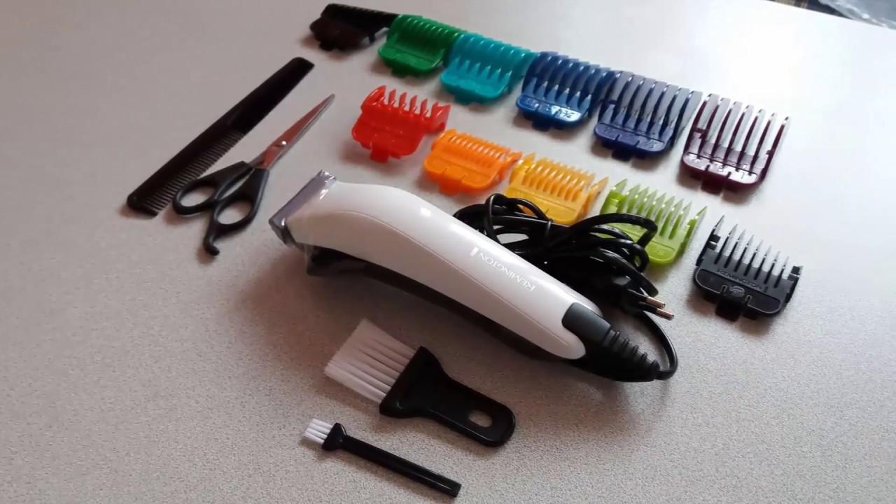 Unboxing Hair Clipper Remington ColourCut HC11