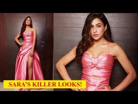 Sara Ali Khan stuns in a thigh-high slit gown! Mp3