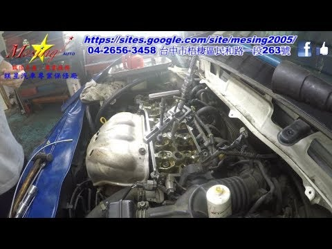 How To Remove and Replace Valves in a Cylinder Head TOYOTA WISH 2.0L 2004~2008 1AZ-FE U241E
