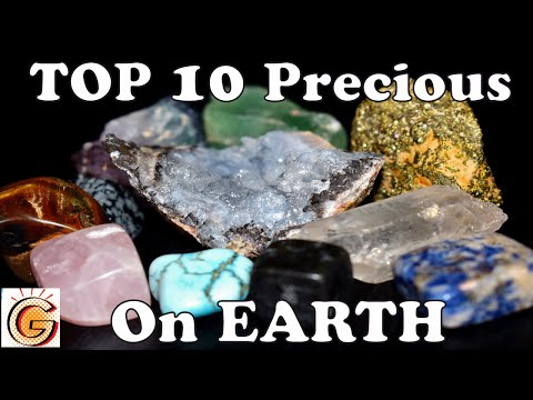 Top 10 Precious Stones on Earth - video