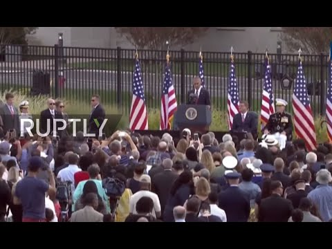 LIVE: Obama to speak at 9/11 memorial marking 15th anniversary of terrorist attack