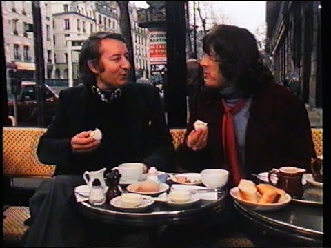 """""""BALLADES PARISIENNES"""" de Georges Yu (RTBF-série """"Itinéraires"""", 1979)"""