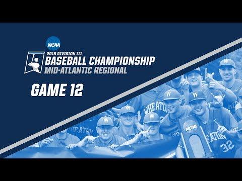 2018 NCAA DIII Baseball Mid-Atlantic Regional - GAME 12