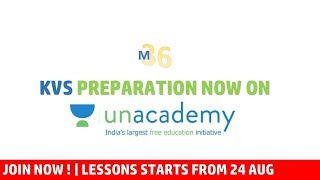 KVS PRT Preparation on Unacademy | Follow Mentors 36 and Start Learning | Its Free