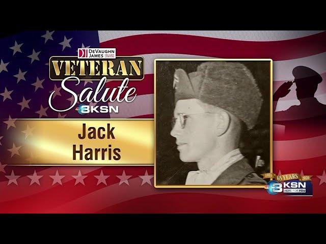 Veteran Salute: Jack Harris