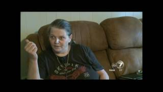 Woman deals with home intruders in style