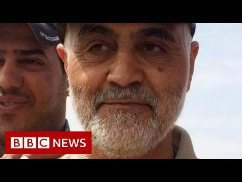 Qasem Soleimani: Mourners gather in Iraq for funeral - BBC News