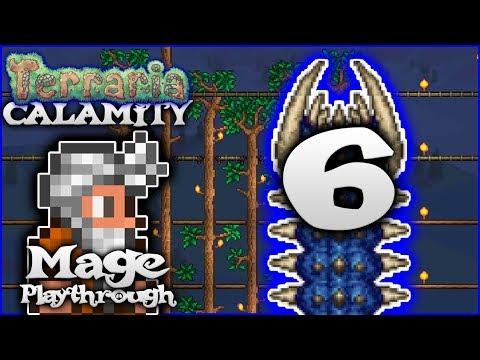 🌟 The Desert Scourge & Eye Of Cthulhu! | Terraria 1.3.5 Calamity Mod Mage Let's Play [Episode 6]