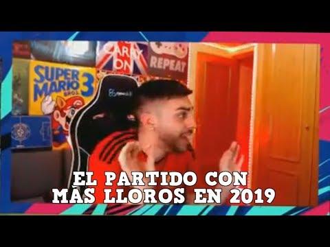 EL PARTIDO CON MÁS LLOROS DE DjMaRiiO EN 2019 | FIFA 19