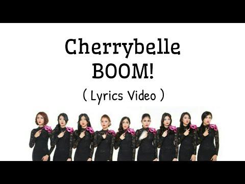 Cherrybelle - BOOM!! - (Lyrics Video)