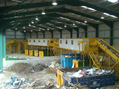 Kiverco Recycling System - Lift & Shift Waste Management