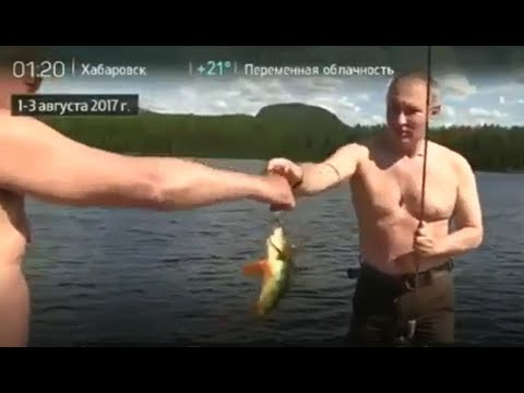Gone fishin' - Putin & Shoigu in Siberia