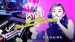 Lagu Psycho Bikin Semua Coach Muter Untuk Celine 3 Chairs The Voice Kids Indonesia Season 4 MP3