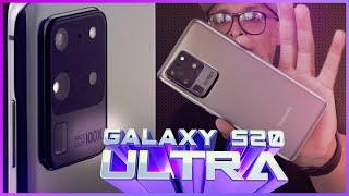 MONSTRUOSO Samsung Galaxy S20 ULTRA, 16GB DE RAM, camera 108mp!
