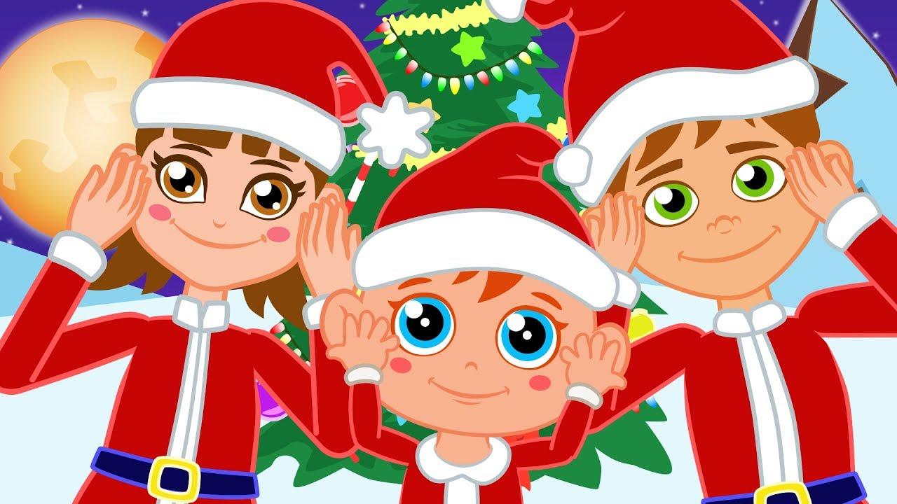 Noel Baba Ailesi ile Baş Omuz Diz Ayak - Dünya Çocuk Şarkıları