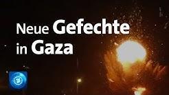 Gaza-Streifen: Wieder Gefechte zwischen Israel und Hamas