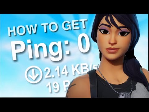 HOW TO INSTANTLY GET 0 PING IN FORTNITE! (ANY COUNTRY)