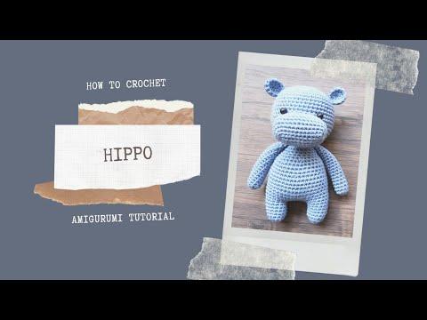Hippo Amigurumi PDF - StringyDingDing | 360x480