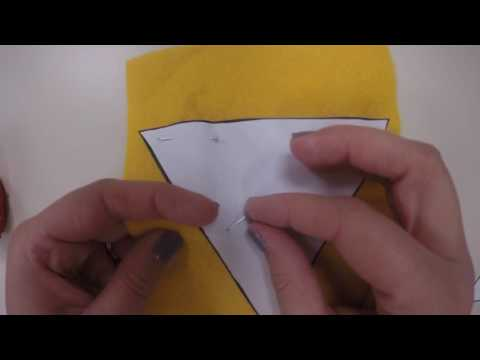 How to Pin Pattern to your Fabric
