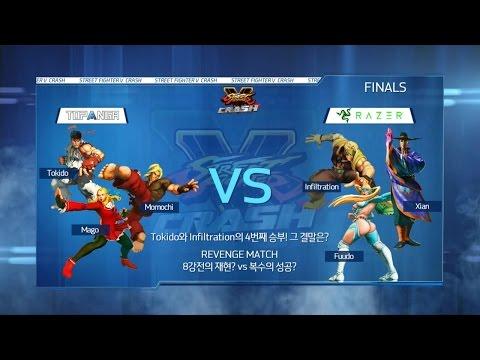 TEAM RAZER vs TOPANGA 결승전 스트리트파이터V 크래쉬 16.06.05 -EsportsTV