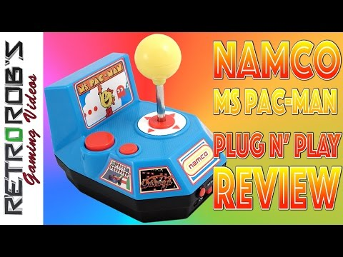 Namco Ms Pacman Plug And Play Review