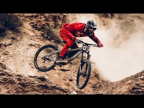Rampage Winning Run Bike Video showing Brandon Semenuk's Flawless Big Mountain Line