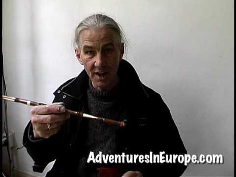 Moroccan KIF (Kief) Pipe in Amsterdam by AdventuresInEurope.com