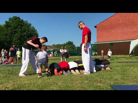 Unite Martial Arts Demo Team Display Norwood School 2018