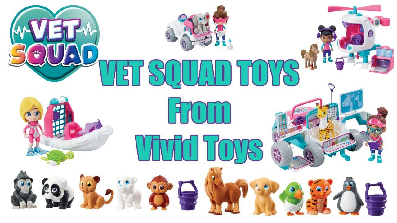 Vet Squad Toys from Vivid Imaginations