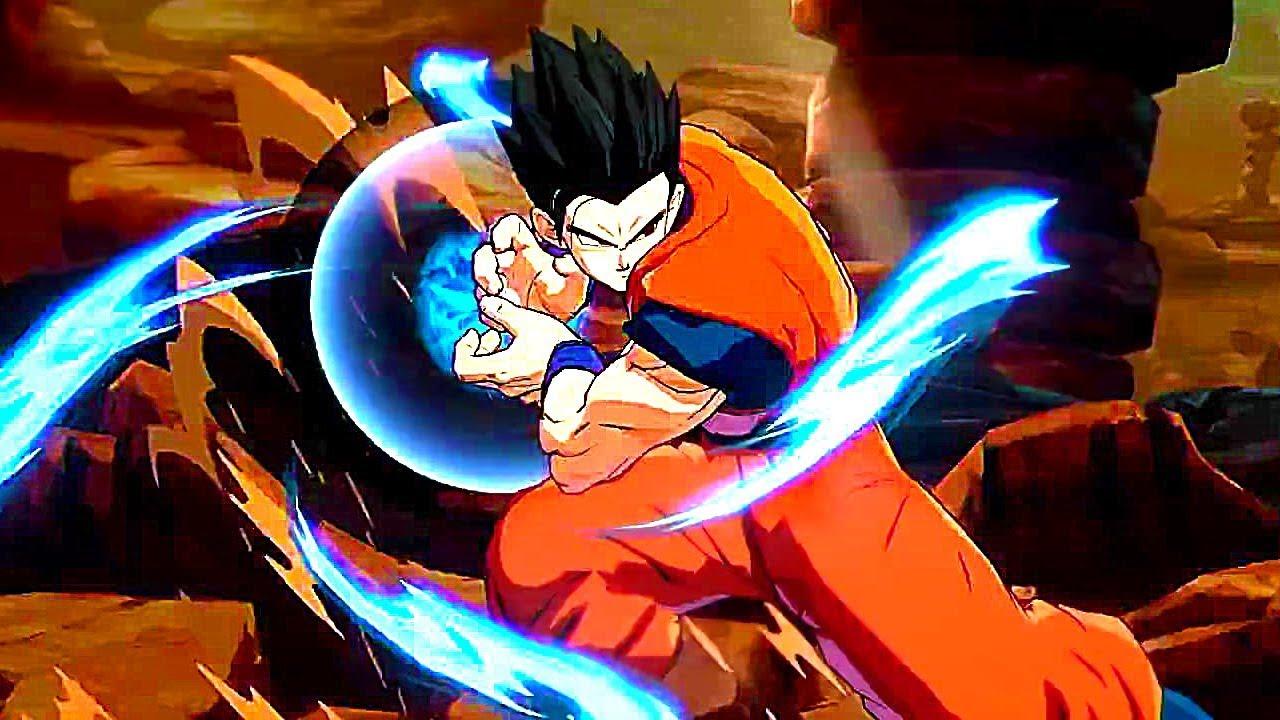 Dragon Ball FighterZ Adult Gohan Gameplay Trailer