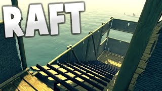 Raft - FLOATING HOUSE!! Unlimited Resources, Building the Biggest Raft! - Let's Play Raft Gameplay